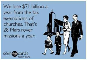 Tax the Churches!