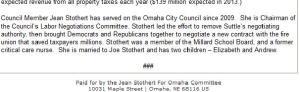 Stothert's Crap.