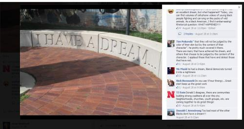 Racial Comment on Jean Stothert's Facebook
